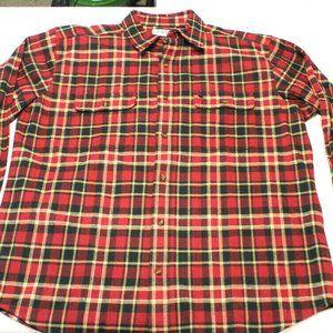 Carhartt  Plaid heavyweight flannel shirt 2XL Tall